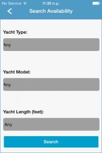 Search availability from your cooperative Fleet